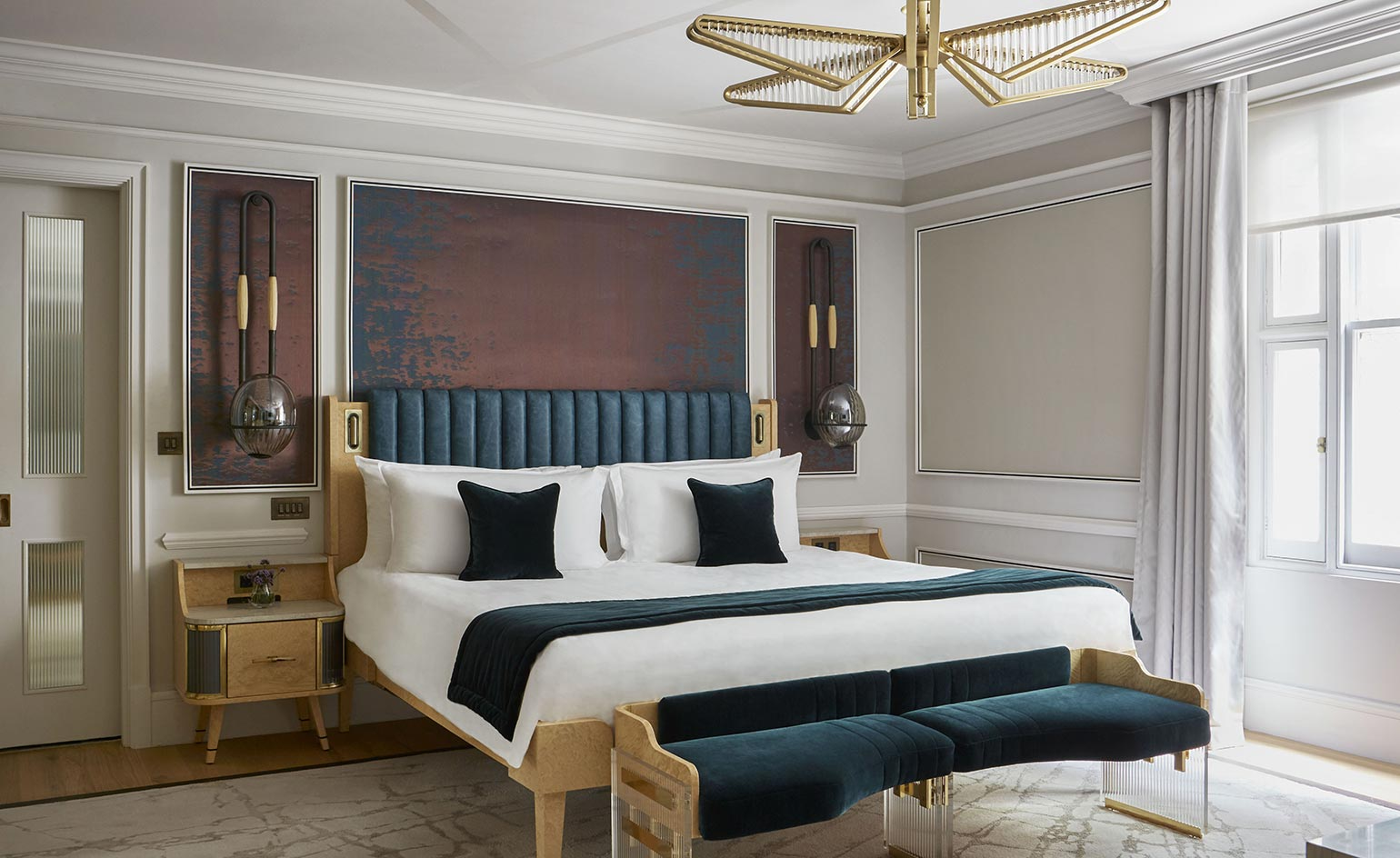 Bedroom Design Ideas Images Mandarin Oriental Hyde Park Hotel Review London Uk