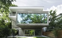 Angela Tsementzis' Canadian Concrete House