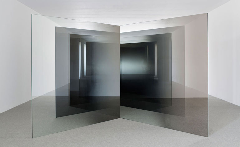 Minimalist 3d Wallpaper Haunted Reflections Larry Bell S Experimental Work On