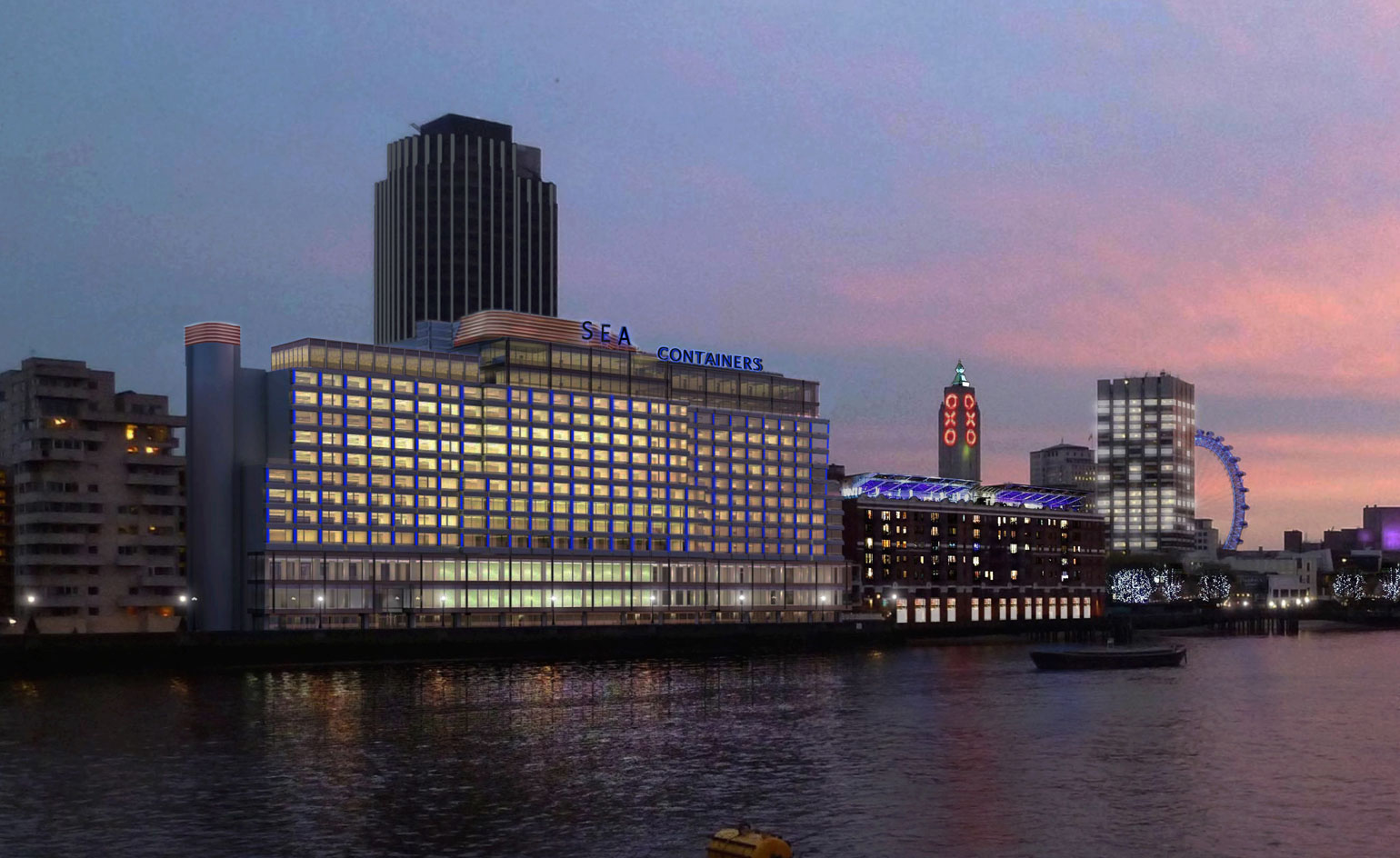 Container Haus London Mondrian London At Sea Containers Hotel Review London