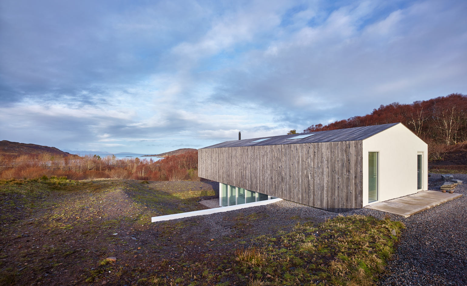 House Designs Scotland A New House In The Scottish Highlands Mimics A Telescope
