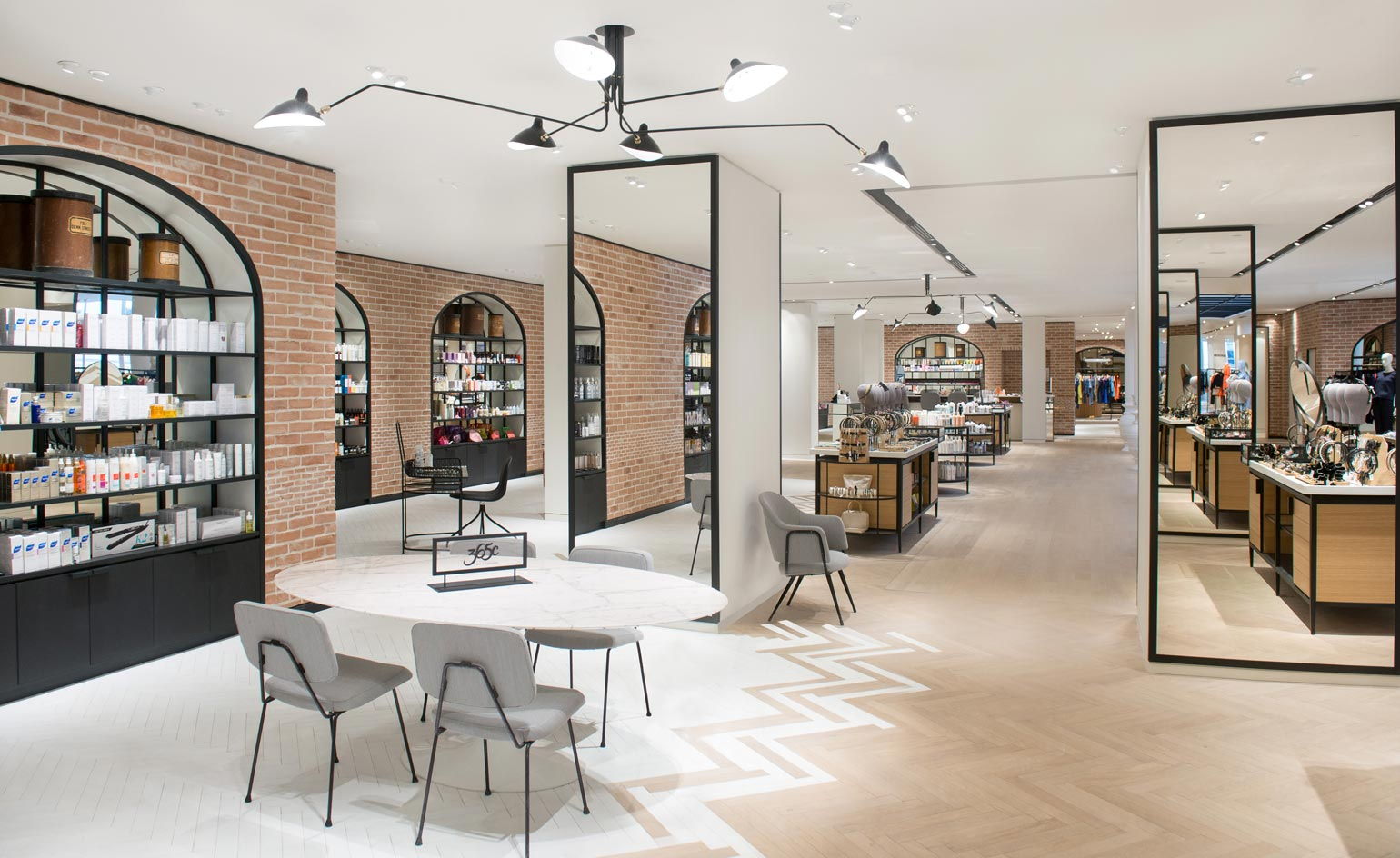 Salon Vintage Paris Beauty Parlour Le Bon Marché Unveils Innovative Store
