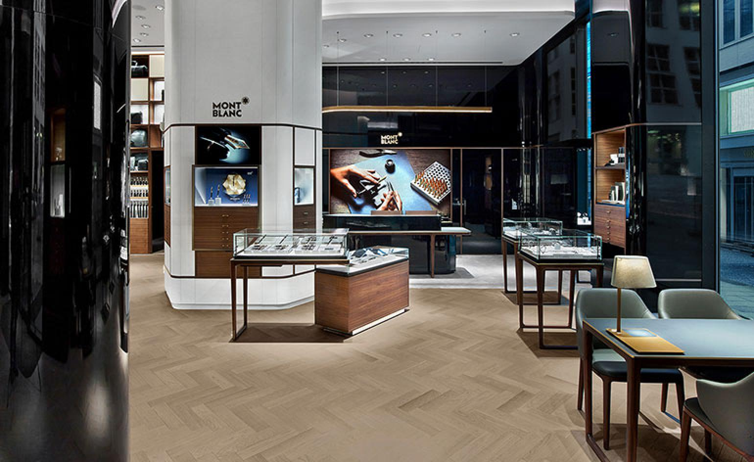 Interior Designer Hamburg Noé Duchaufour Lawrance Creates Global Concept For Montblanc