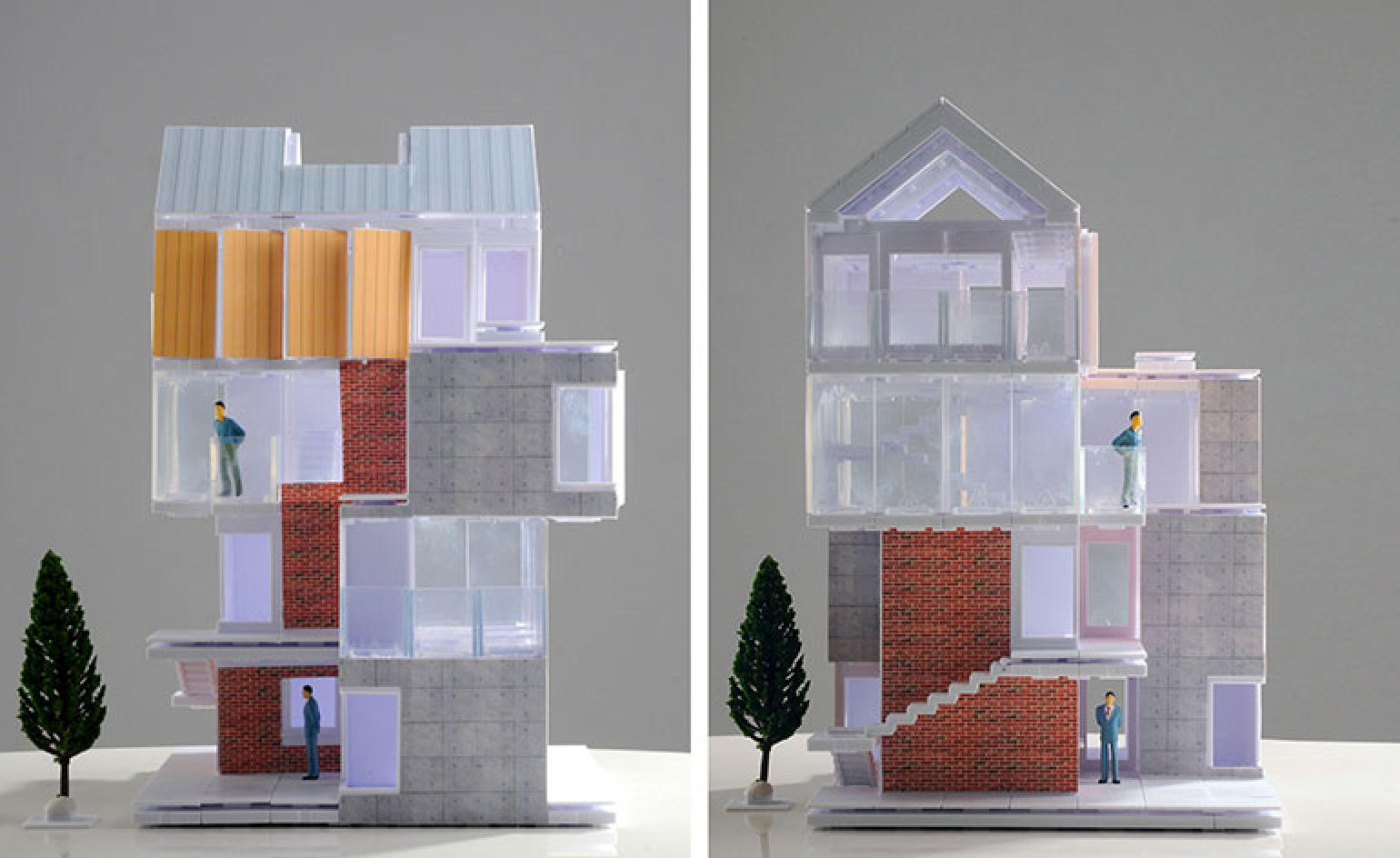 Architectural Model Kits Model Made Arckit The Game Changing Architectural Model
