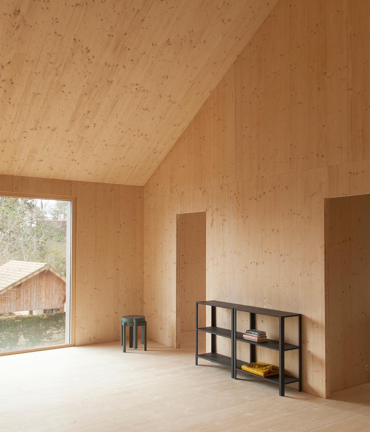 Home Design Möbel A Minimalist Sustainable Prefabricated Wood House In
