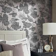 Black And Cream Damask Wallpaper Bedroom Wallpapers Wallpaper Direct