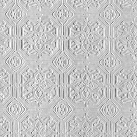 3d Embossed Brick Wallpaper Derby Classical By Anaglypta Paintable White