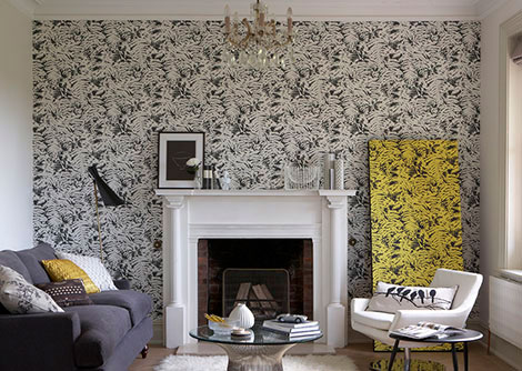 Design ideas u2013 get the looku2026  Wallpaper Direct - wallpaper ideas for living room