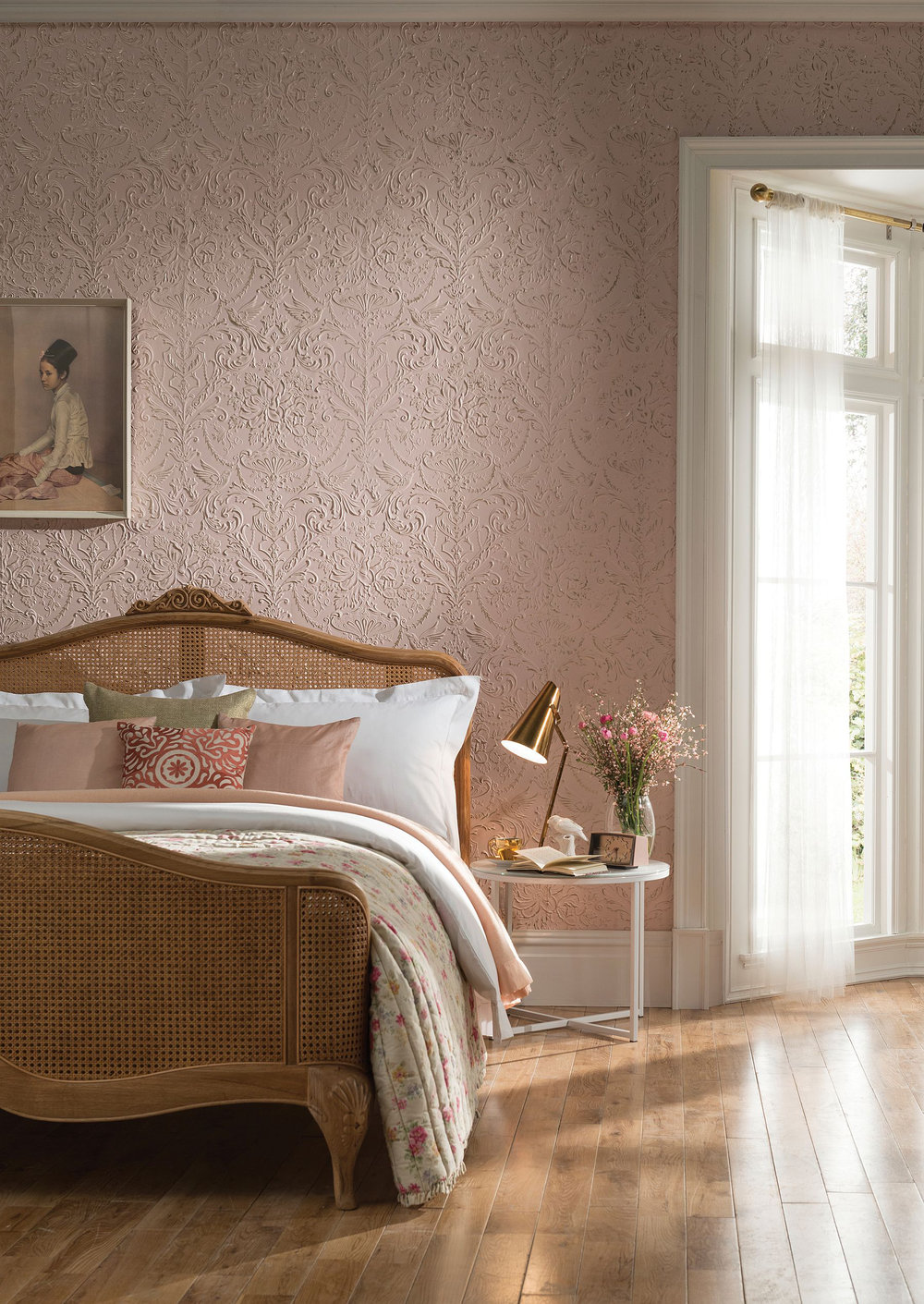 Wallpapers For A Bedroom Passeri By Lincrusta Paintable Rd1971fr