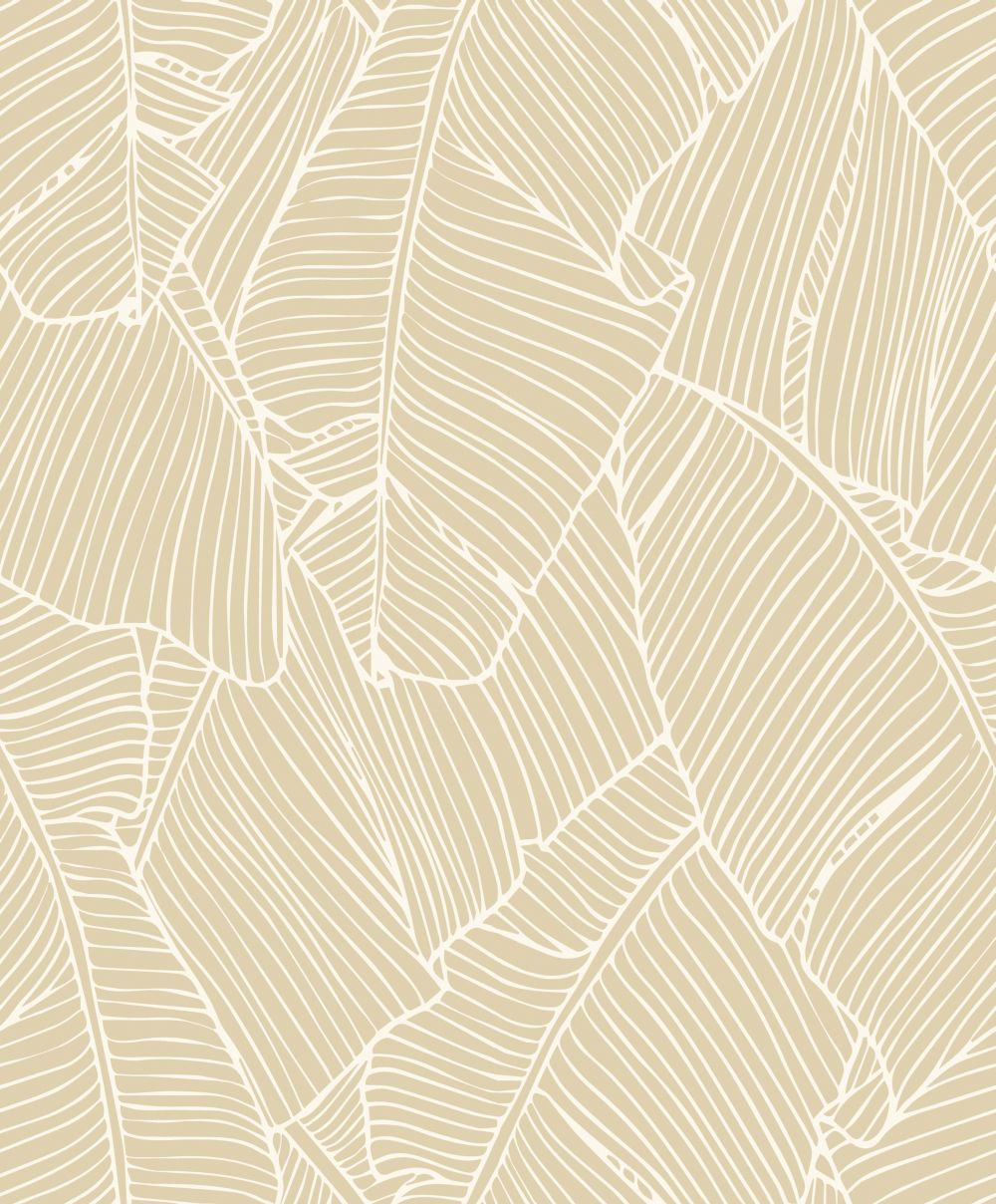 Metallic Gold Wallpaper Exotic Palms By Galerie Metallic Gold Na3302