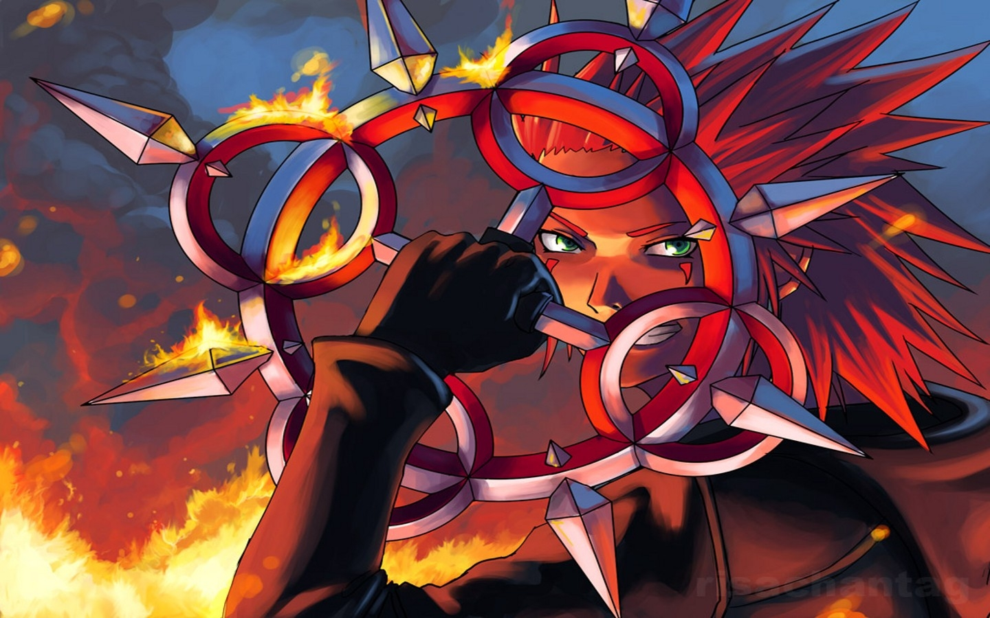 Red White And Blue Car Wallpaper Iphone Kingdom Hearts Axel 1440x900 Wallpaper Video Games