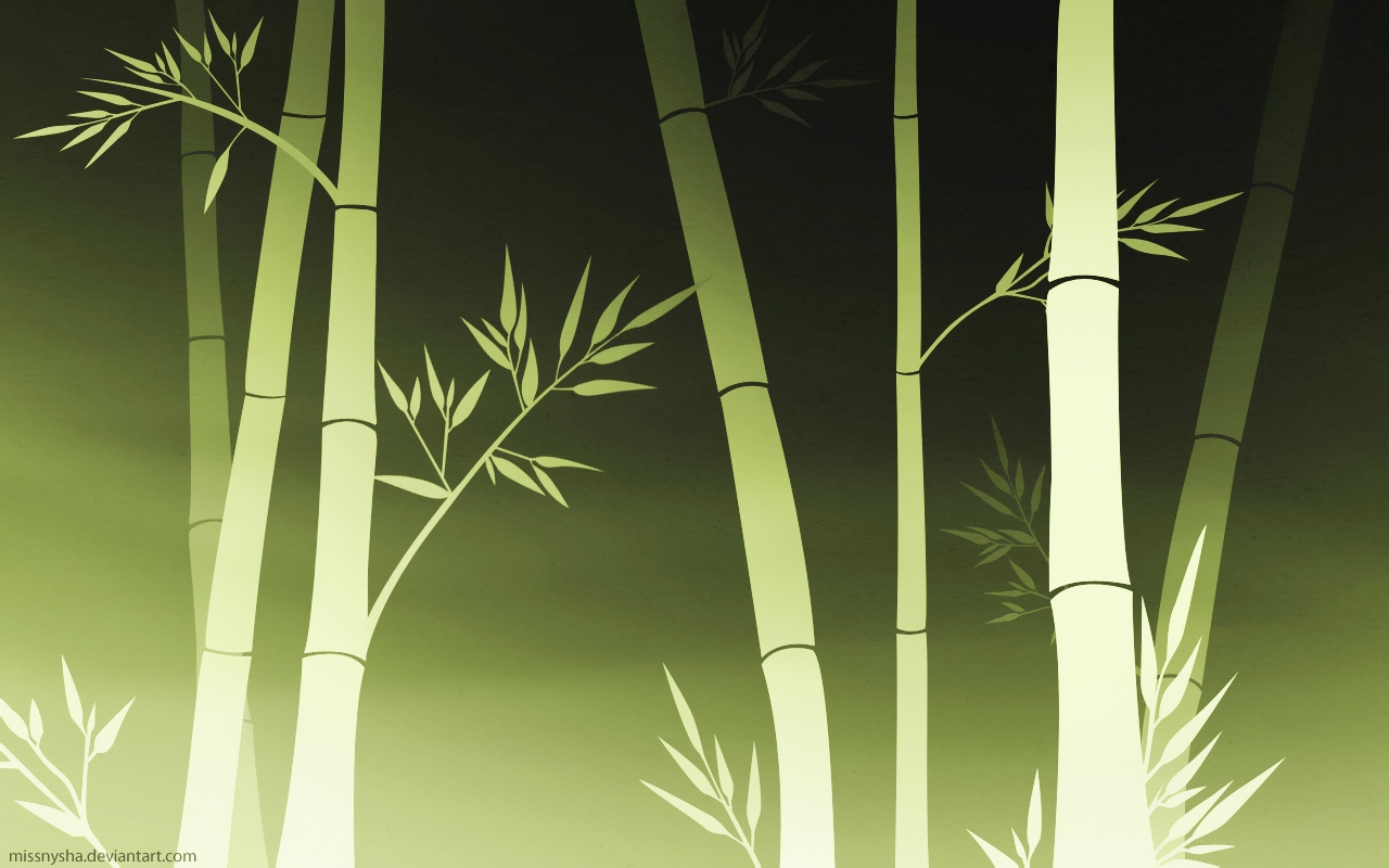 Fall Themed Wallpapers Cartoon Bamboo 1280x800 Wallpaper High Quality Wallpapers High