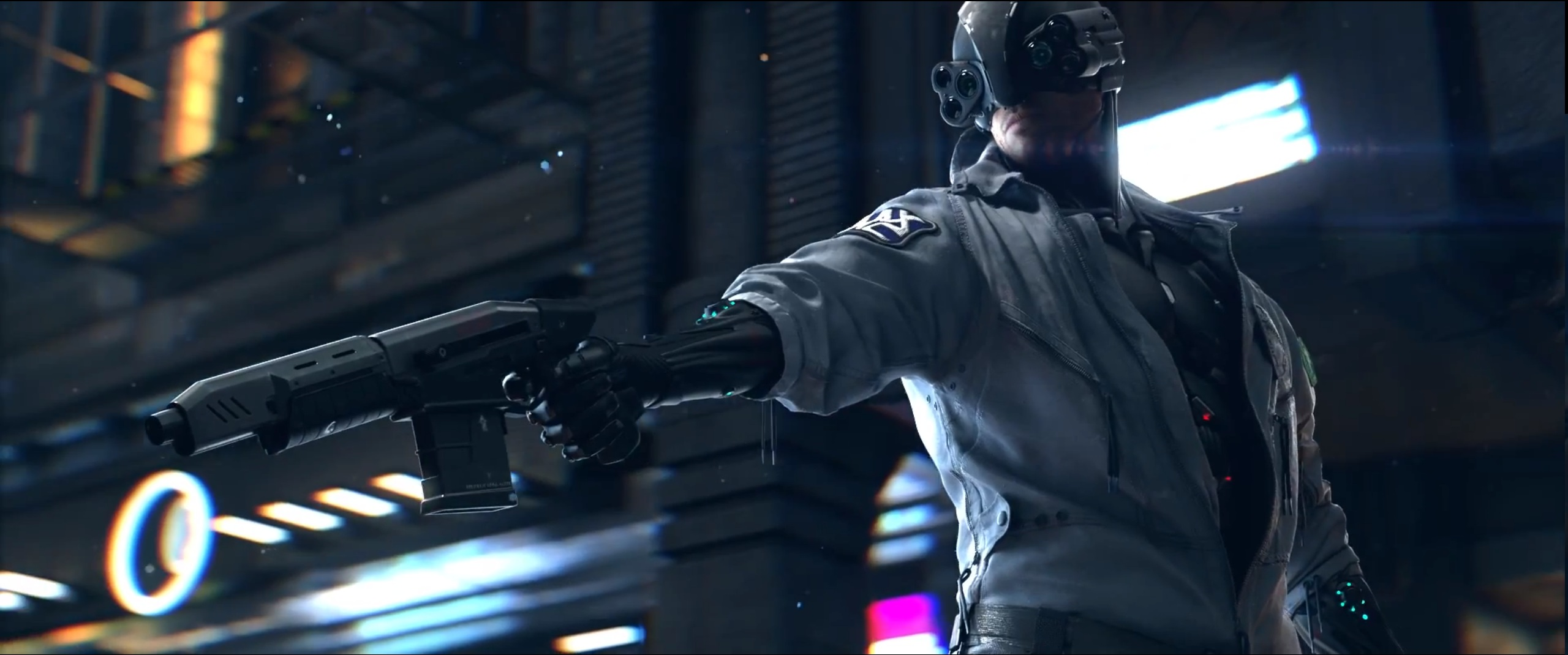 Police Officer Girl Wallpaper Cyberpunk 2077 Aims For Next Gen Consoles And Pcs