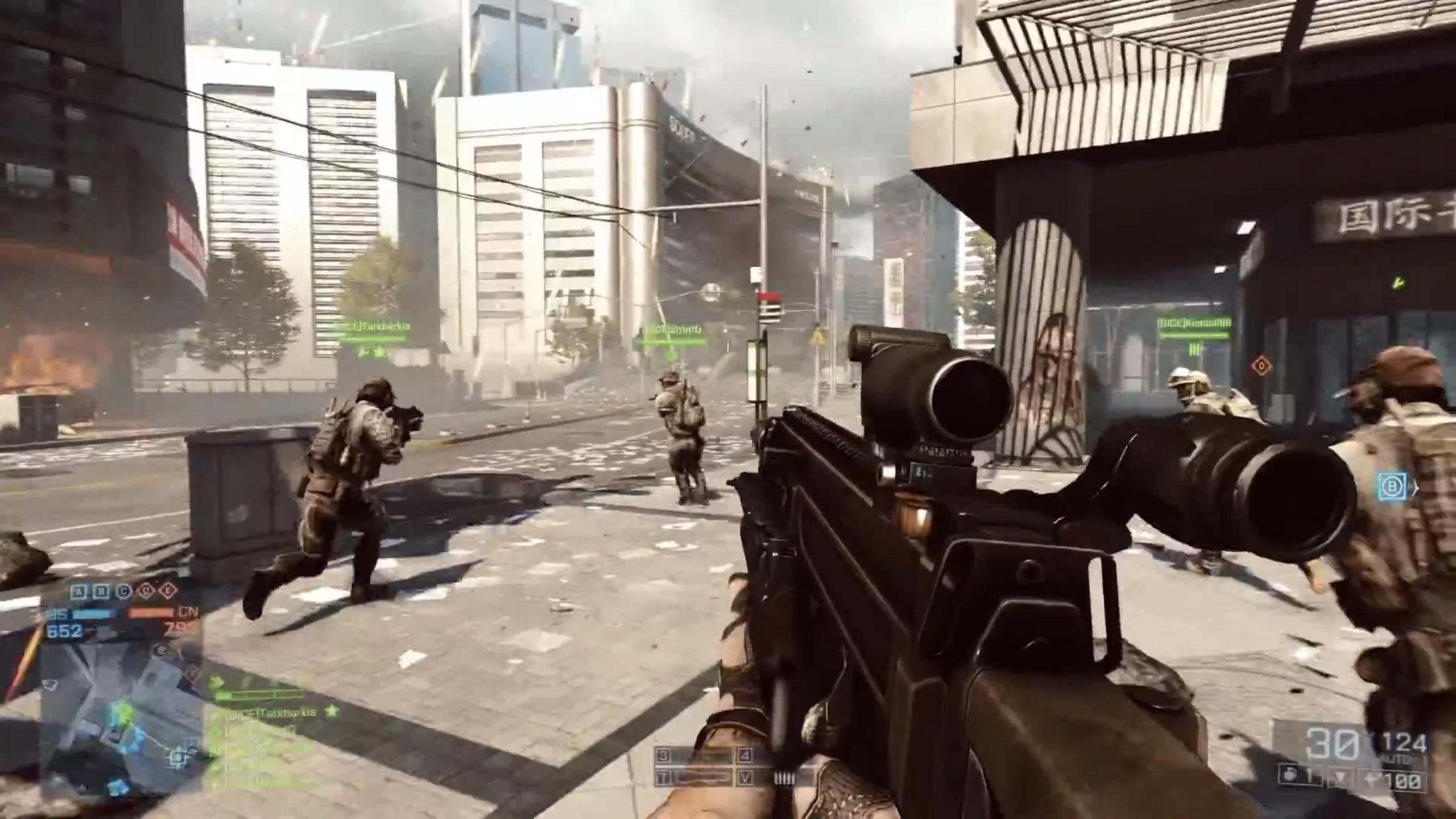 Pc Fall Wallpaper Battlefield 4 Multiplayer Trailer Shows New Maps Intense