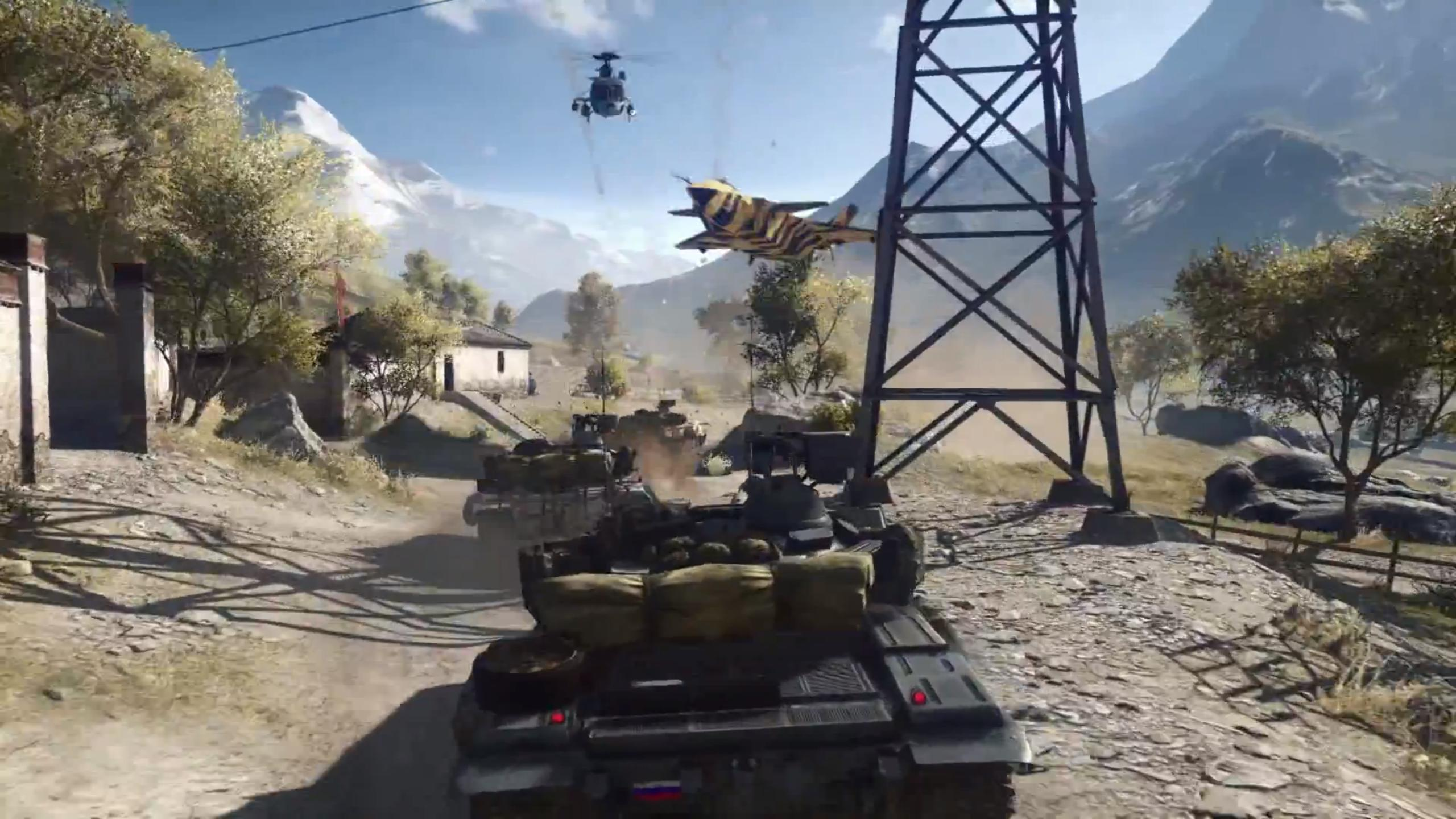 Fall Moving Wallpaper Battlefield 4 Multiplayer Trailer Shows New Maps Intense