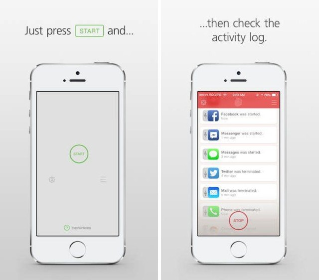 Catchr iOS App will Catch People Using your iPhone in Your Absence