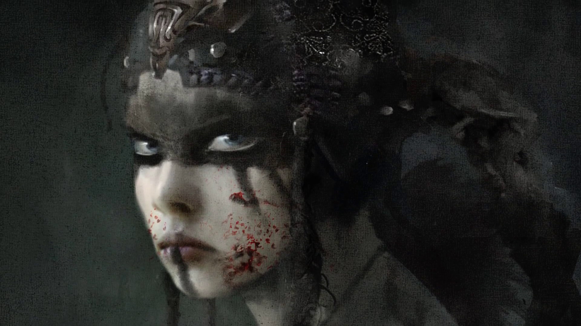 Girl Face Wallpaper For Mobile Hellblade First Gameplay Trailer For The Pc Ps4 Unreal