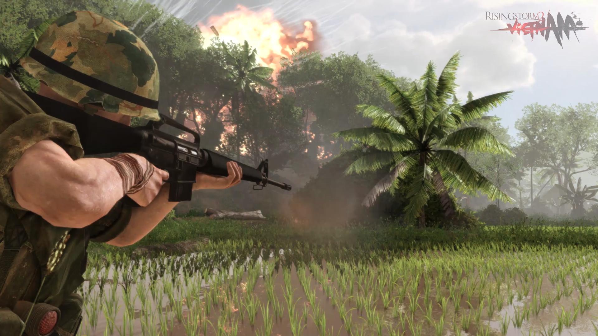 Military Camouflage Wallpaper Hd Rising Storm 2 Vietnam Trailer Shows Deep Customization