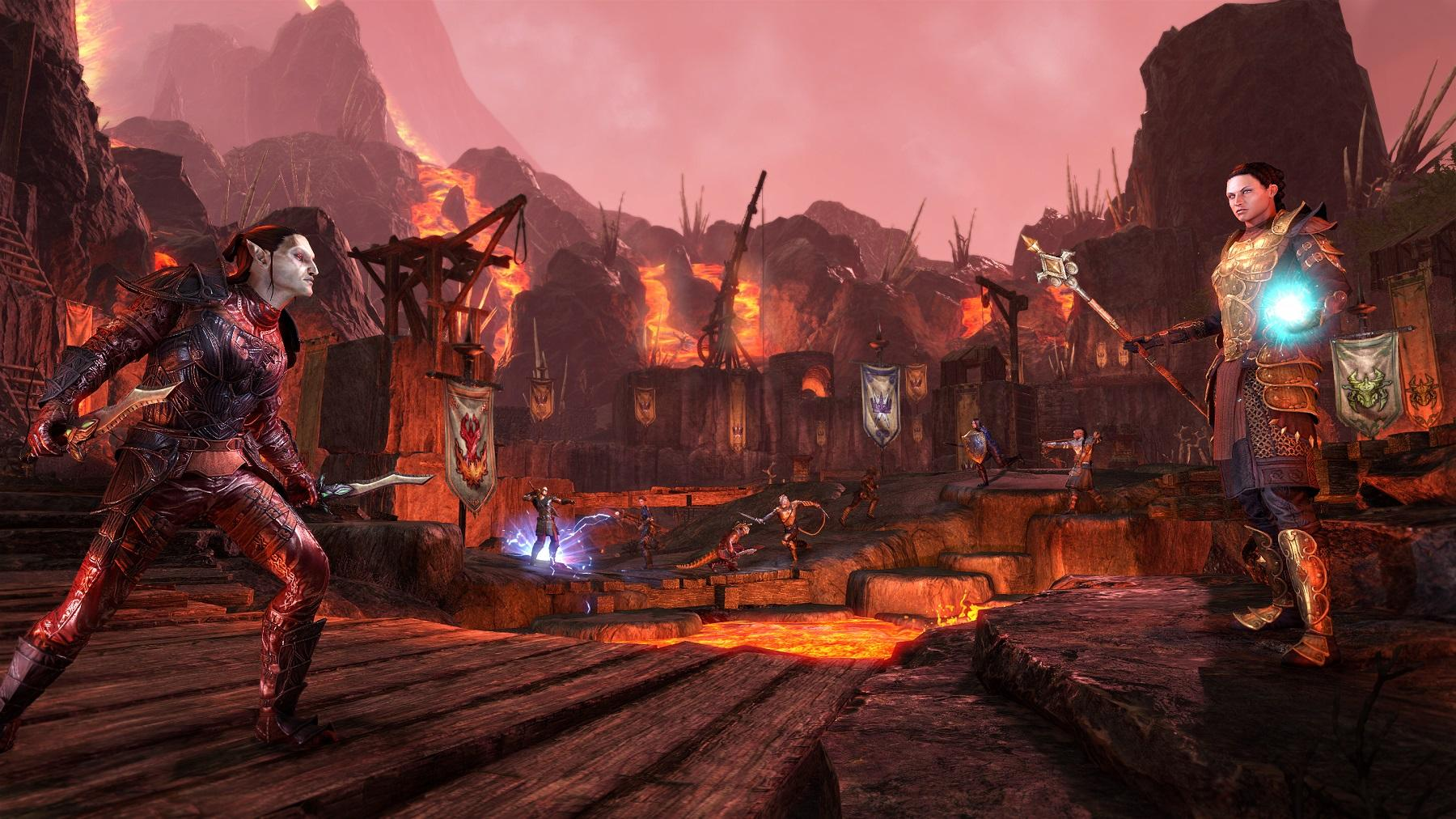 The Elder Scrolls Online The Elder Scrolls Online Morrowind Expansion To Release In