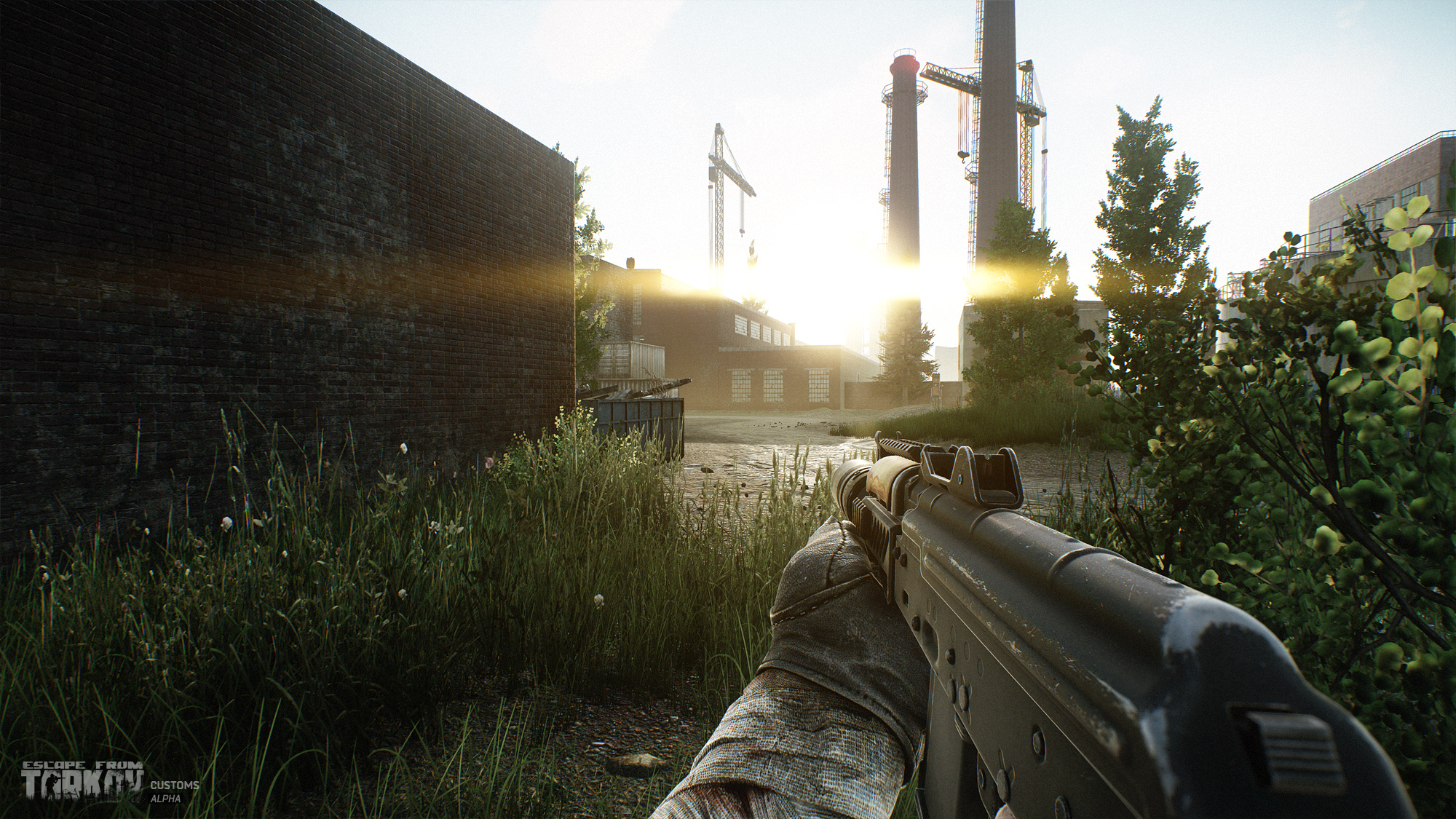 1440p Fall Wallpaper Escape From Tarkov Expands Their Customs Area