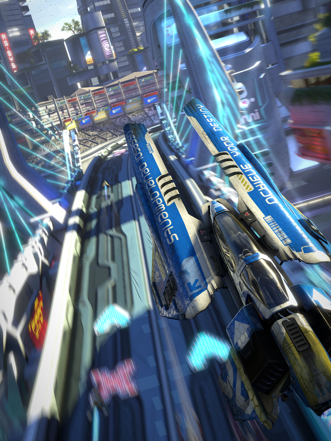 Evolution Hd Wallpaper Wipeout Omega Collection Gets Stunning Images Via Dead
