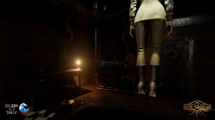 Early Fall Wallpaper Close To The Sun Is An Indie Story Driven Horror Game Made