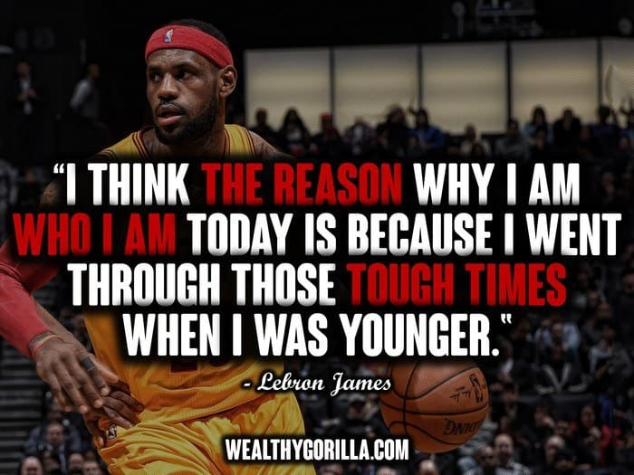 Lebron James Quotes Wallpaper 21 Inspiring Lebron James Quotes About Success Wealthy