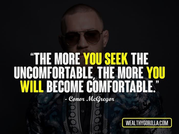 Connor Mcgregor Quote Wallpaper 21 Powerful Conor Mcgregor Quotes On Success Wealthy Gorilla