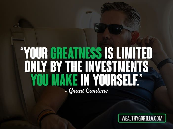 Floyd Mayweather Quotes Wallpaper 38 Grant Cardone Quotes About Achieving Success Wealthy