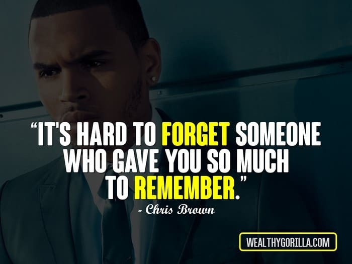Kendrick Lamar Quote Wallpaper 40 Inspirational Chris Brown Quotes 2019 Wealthy Gorilla