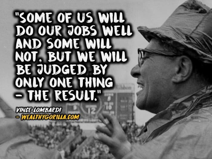 Motivational Football Quotes Wallpaper 35 Powerful Vince Lombardi Quotes To Remember Wealthy