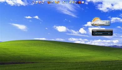 escritorio vacio Esconder Los Iconos Del Escritorio En Windows