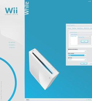 wii white vs by tienanopng Temas Para Windows XP Convierte Tu Escritorio en Una Wii