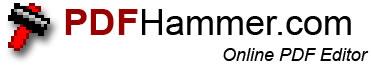 logopdfhammer Editor de Archivos PDF En Linea