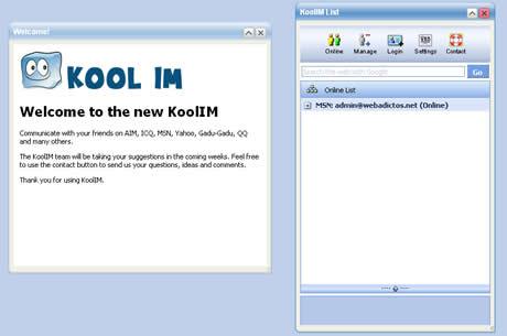 webmessenger Webmessenger online KoolIM