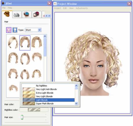 look virtual Prueba nuevos cortes de cabello y haz cambios de look con Jkiwi
