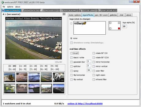transmitir video Transmitir video en internet con WebCam XP