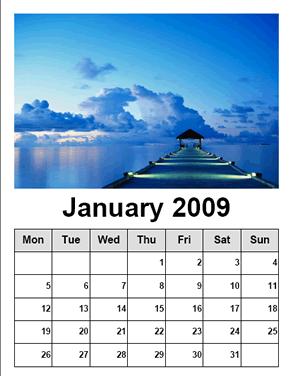 calendario paraimprimir Calendario con tus fotos con Free Photo Calendar
