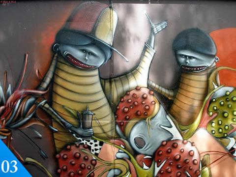 graffitis 3 Graffiti, 50 graffitis creativos