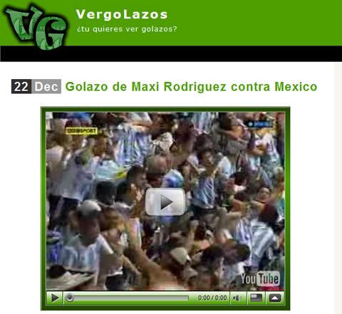 videos de futbol Goles de futbol en video