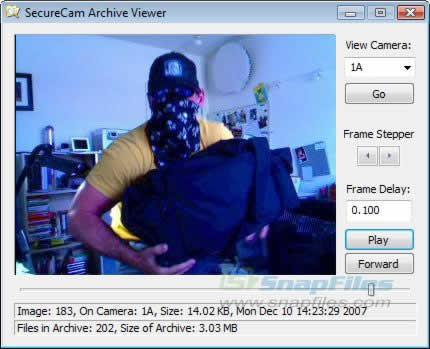 camaras de seguridad webcam Webcams como camaras de seguridad gracias a Secure Cam