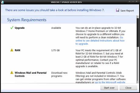 windows 7 upgrade Windows 7, saber si tu computadora lo corre