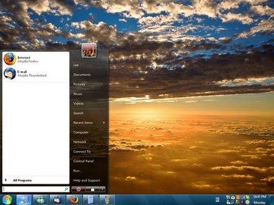 viglance Barra de windows 7 en XP con ViGlance