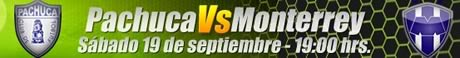 futbol mexicano pachuca monterrey Futbol Mexicano en vivo, Jornada 9 Apertura 2009