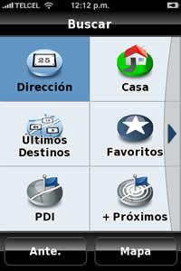 navegador gps Navegador GPS para iPhone, NDrive