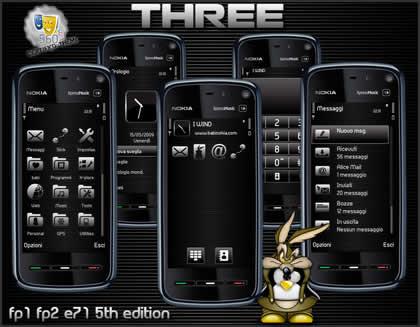temas nokia symbian 5th three Temas nokia N97, +10 excelentes temas