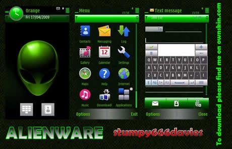 temas para nokia 5800 n97 alienware Temas nokia N97, +10 excelentes temas