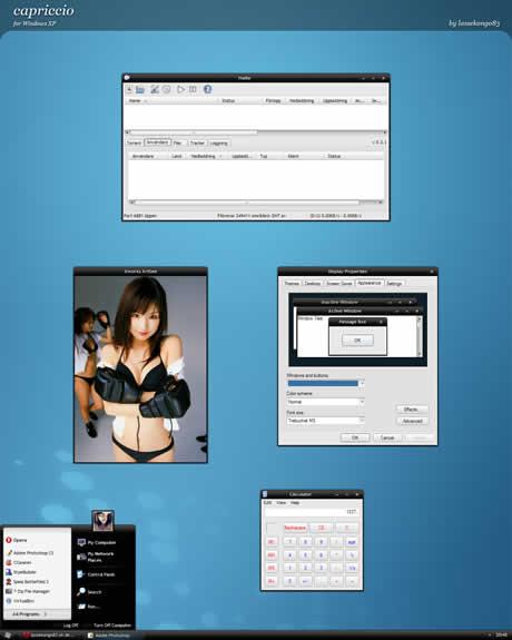 themes xp gratis capriccio Temas xp, 3 excelentes temas para tu windows