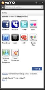 entrar facebook yoono Entrar a facebook, twitter y otras redes con Yoono