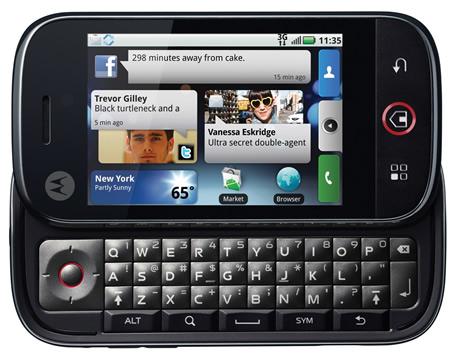 motorola dext Motorola Dext con tecnología Motoblur